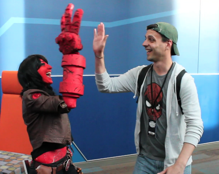 50 High-Fives at BigWOW! Comicfest 2014