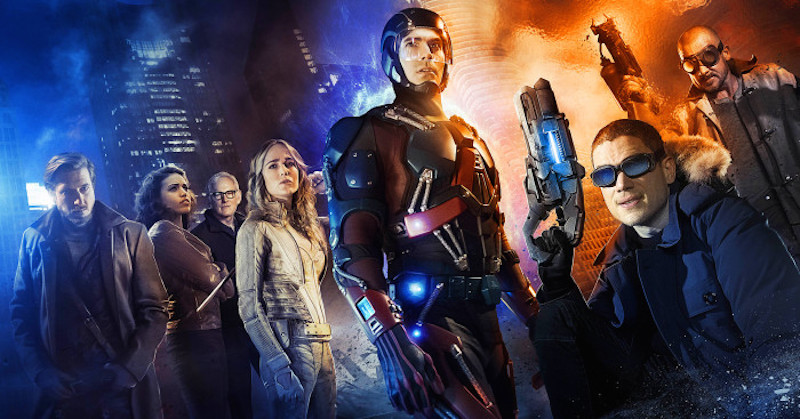 First Look at CW's ARROW/FLASH Spinoff LEGENDS OF TOMORROW!!!