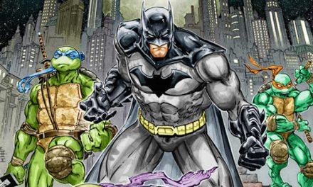 SDCC 2015: BATMAN/TMNT Crossover Coming in November!