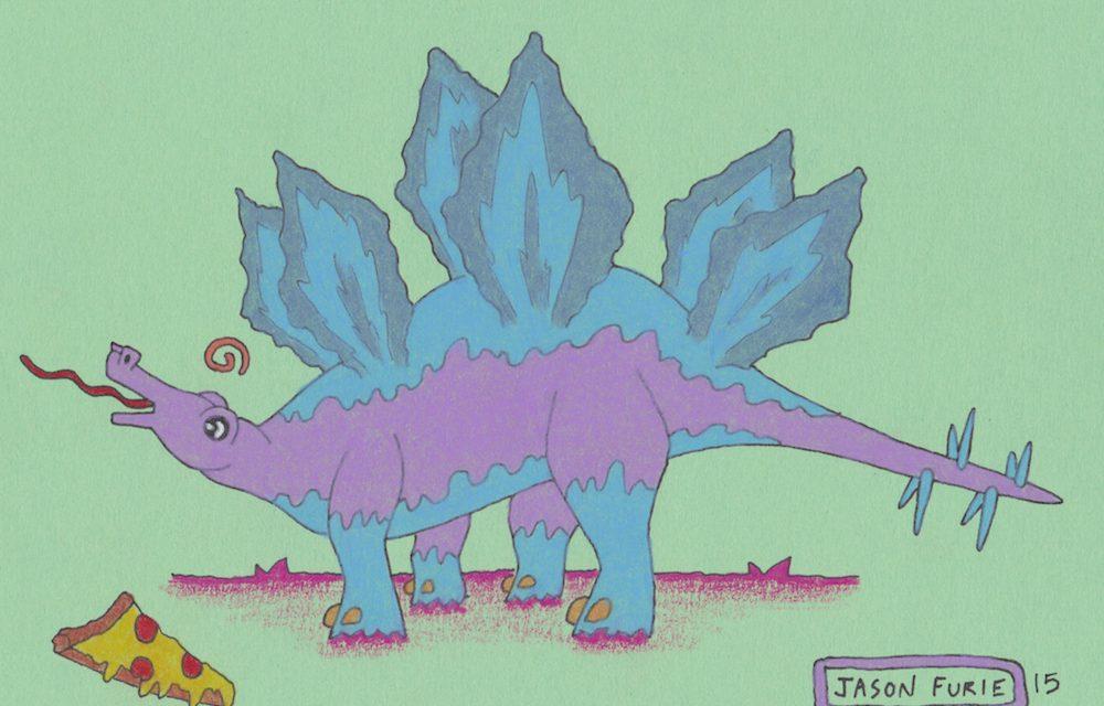 Quick Draw SF #19: Dinosaurs! Dinosaurs! Dinosaurs!