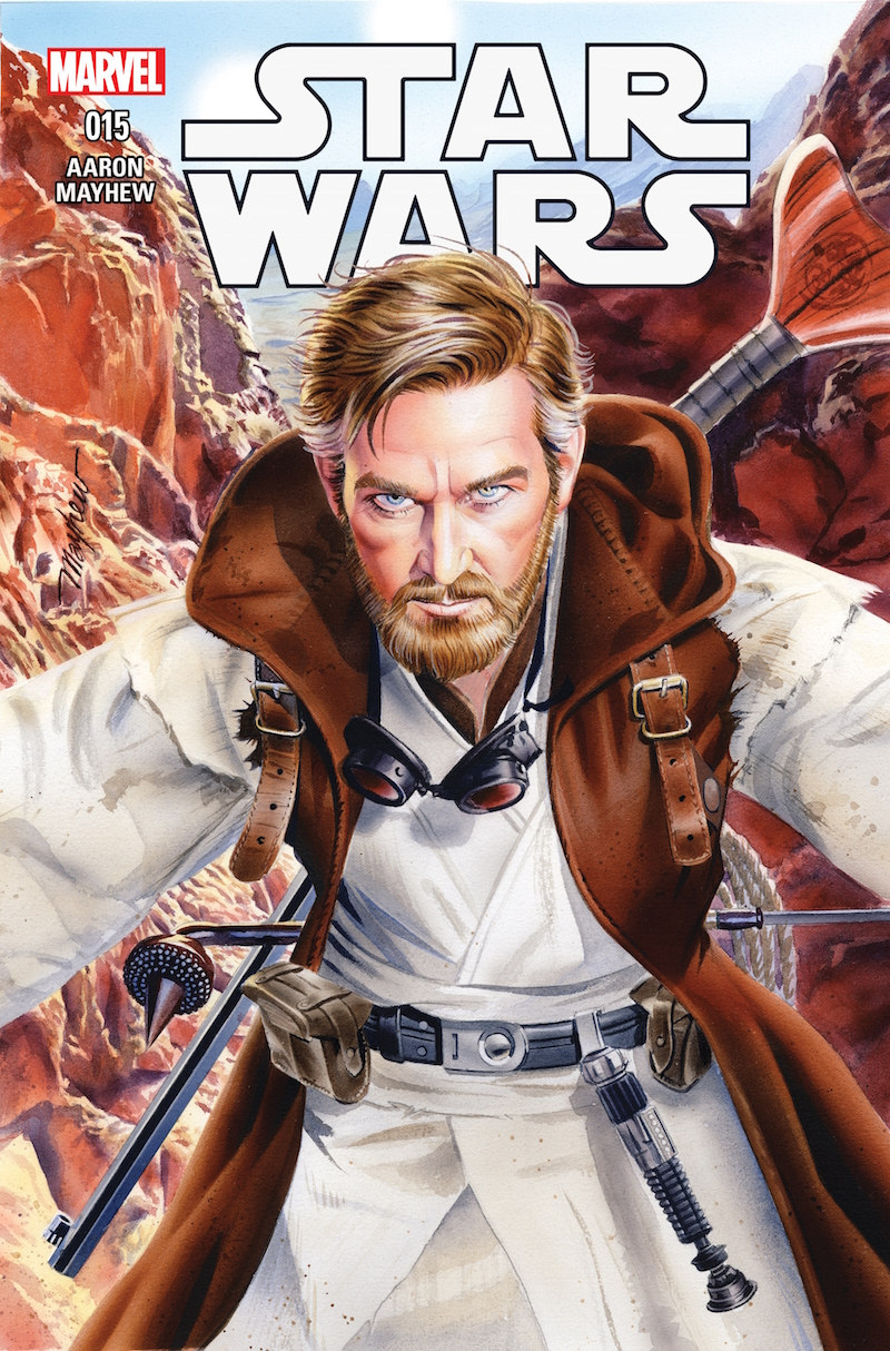 star wars 15 marvel mike mayhew