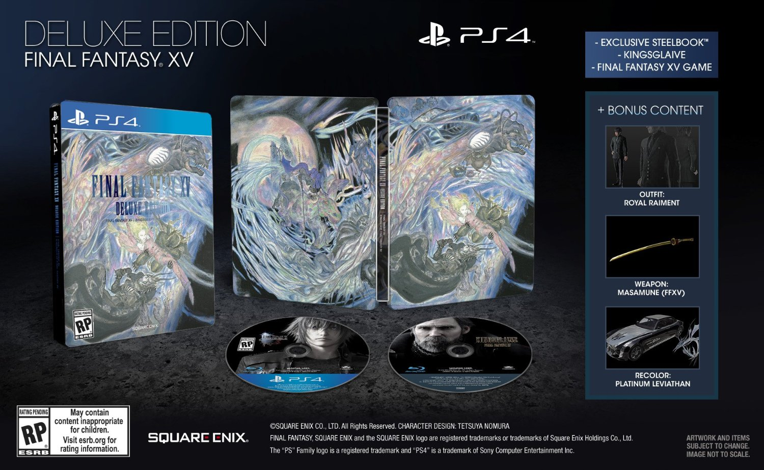 FFXV collectors edition square enix