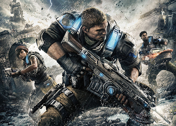 GEARS OF WAR 4 Release Date and Cover Art Revealed!