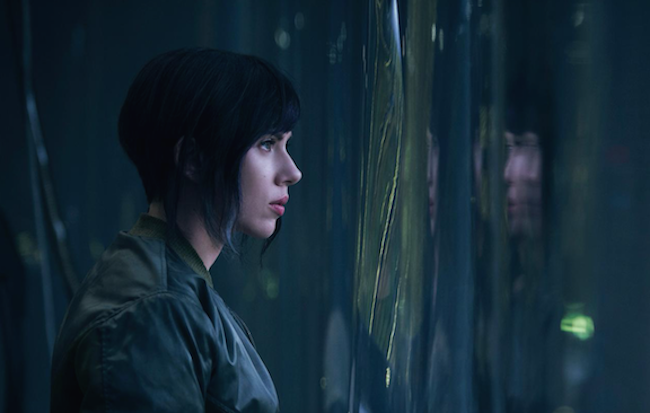 First Image of Scarlett Johansson in GHOST IN THE SHELL
