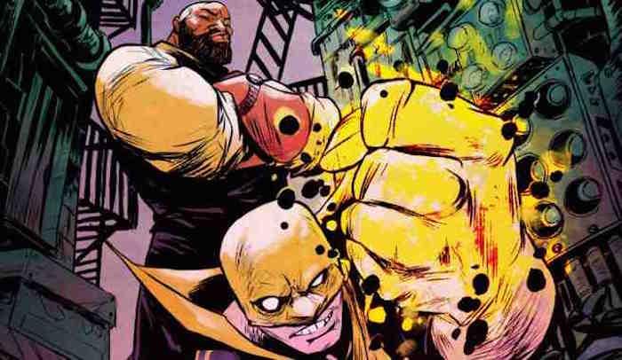 power man and iron fist marvel Sanford Greene