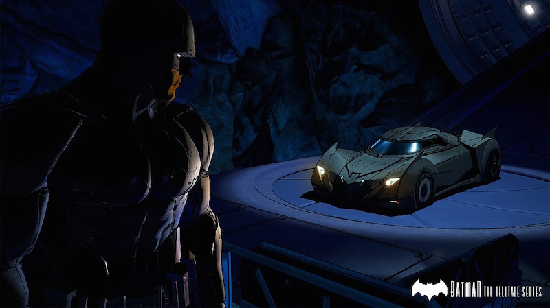 Batman-Telltale-Batcave-Batmobile