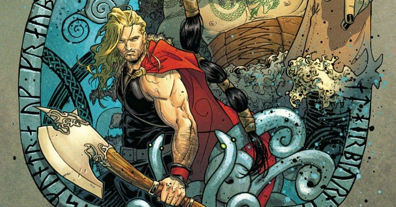 the mighty thor marvel russell dauterman