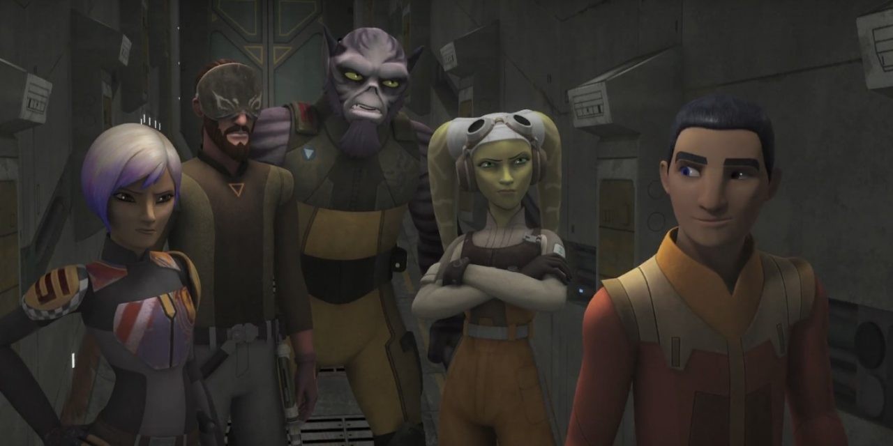 STAR WARS REBELS Season Three Premiere Review