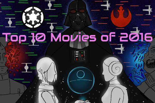 Top 10 Movies of 2016 (Jason, Mark, Sean, & Mike)