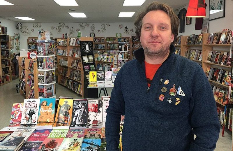 Help Support San Francisco's Mission: Comics & Art!